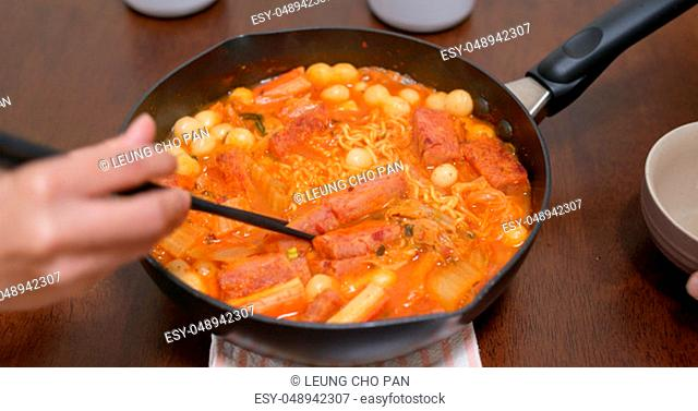 Korean Budae jjigae