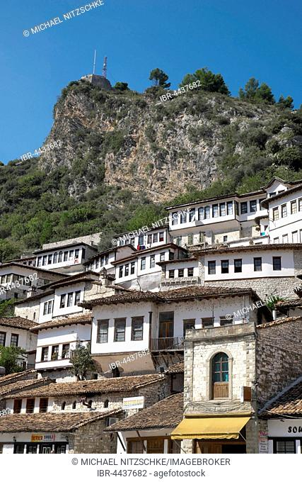Townscape, City of a Thousand Windows, Berat, Albania