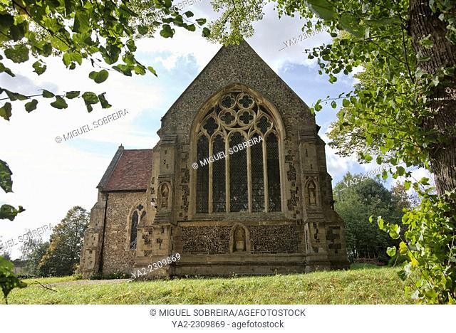 St Michael's Church in Great Stampford in Essex - UK