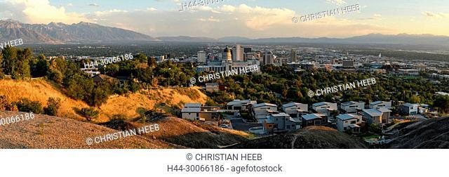 North America, American, USA, Great Basin, Utah, Salt Lake City
