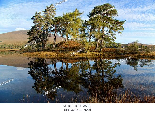 Lake near Bridge of Orchy, Rannoch Moor; Strathclyde Region, Scotland
