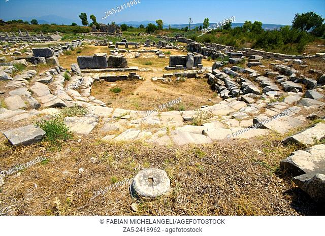 Ruins of The Bouleuterion. Miletos. Anatolia, Turkey