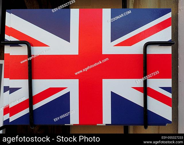 national flag of the United Kingdom (aka Union Jack) postcard