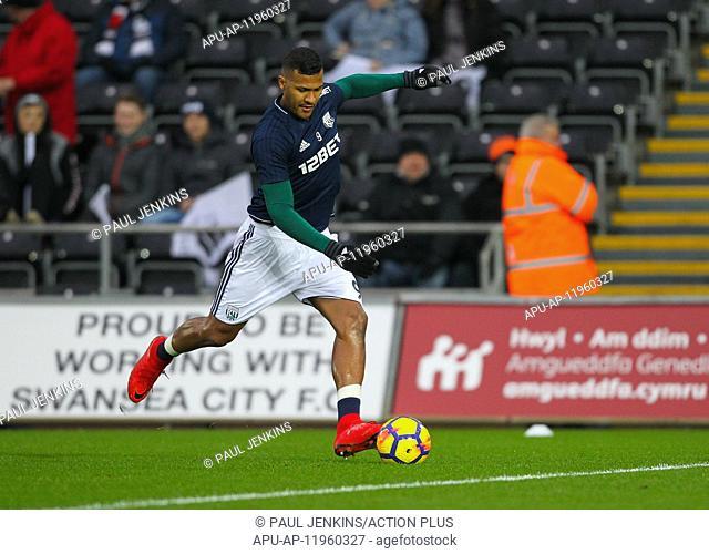2017 EPL Premier League Swansea City v WBA Dec 9th. 9th December 2017, Liberty Stadium, Swansea, Wales; EPL Premier League football