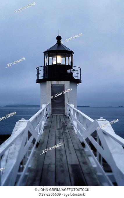 Marshall Point Light Station, Port Clyde, Maine, USA