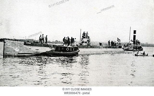 Submarine Deutschland