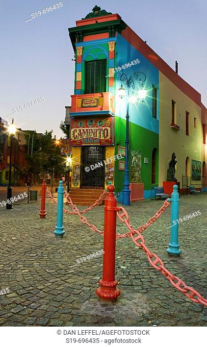 La Boca, Buenos Aires. Argentina