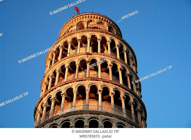 Leaning Tower of Pisa, Campo dei Miracoli, Tuscany, Italy