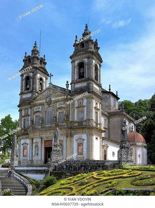 Bom Jesus do Monte sanctuary, Tenoes, near Braga, Portugal
