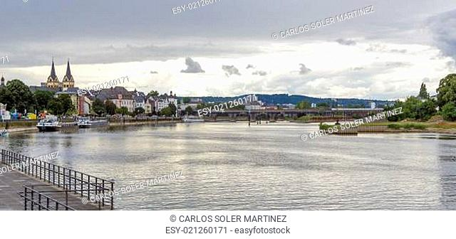 View over Koblenz