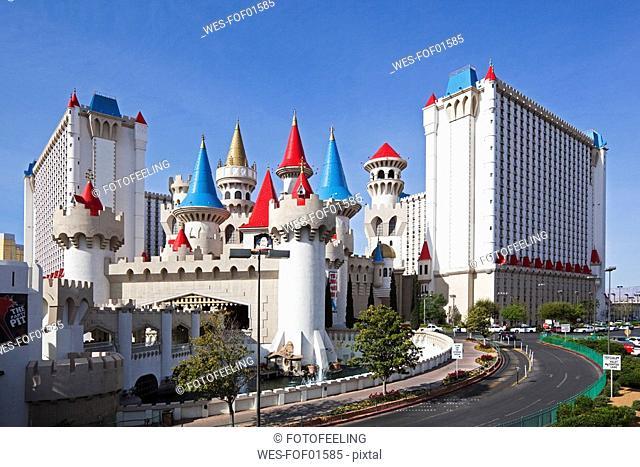 USA, Las Vegas, Hotel Excalibur