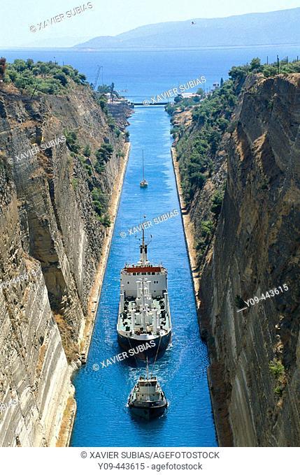 GREECE. CORINTH CANAL
