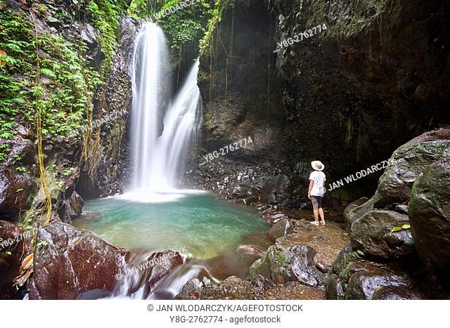 Waterfall Git Git, Bali, Indonesia