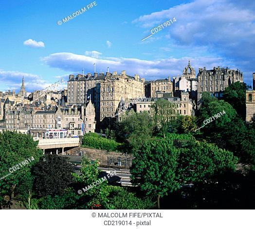 Old Town. Edinburgh. Scotland