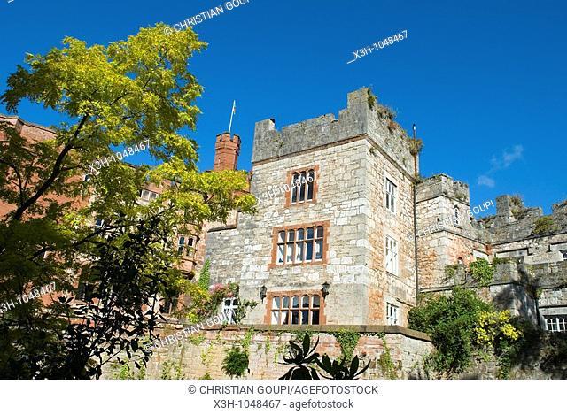 Ruthin Castle,Wales,United Kingdom,Great Britain,Europe