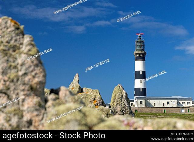 Créac'h lighthouse, Île d'Ouessant France, Brittany, Finistère department