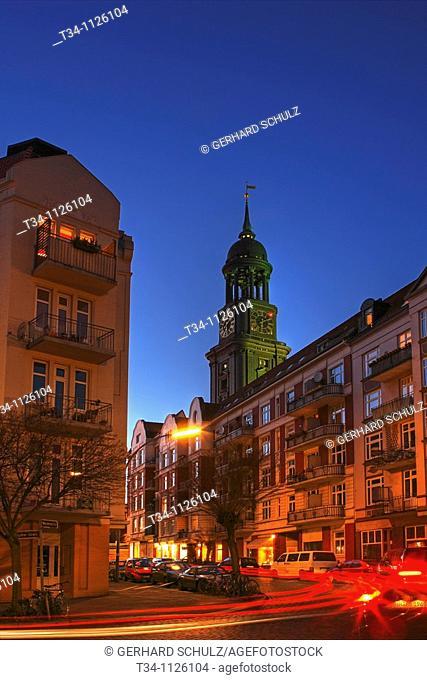 St Michaelis Church, Hamburg, Germany