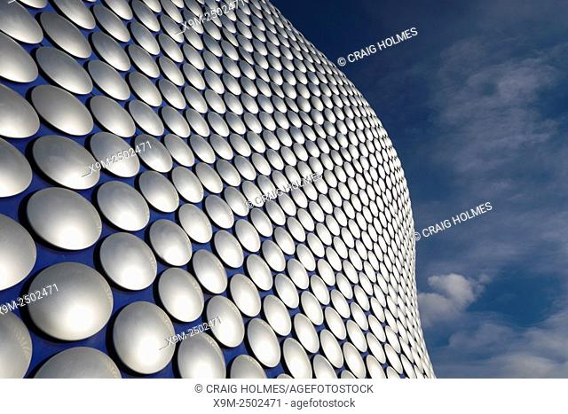 The iconic Selfridges building at The Bullring Shopping Centre, Birmingham