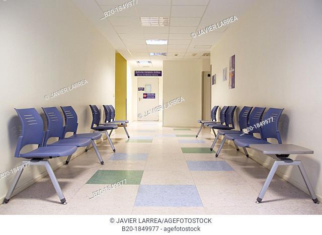 Waiting room, Intensive Care Unit ICU, Donostia Hospital, San Sebastian, Donostia, Gipuzkoa, Basque Country, Spain