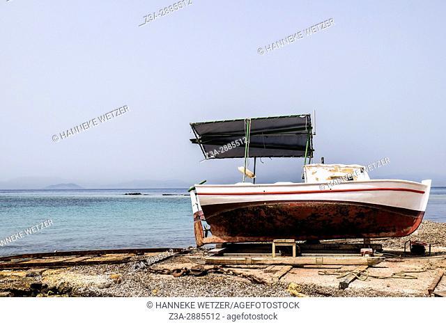 Port of Aegina, Greece, Europe