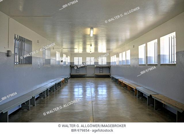 Dormitory of the former prison on Robben Island, Cape Town, South Africa, Africa