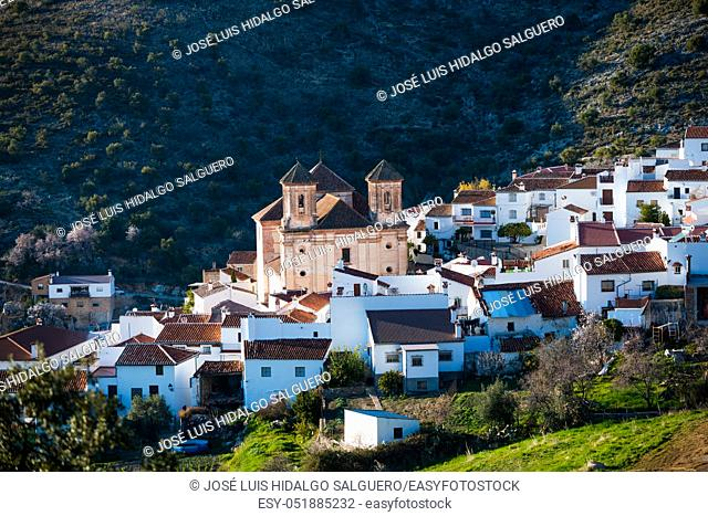 Alpandeire, Málaga, Andalusia, Spain, Europe