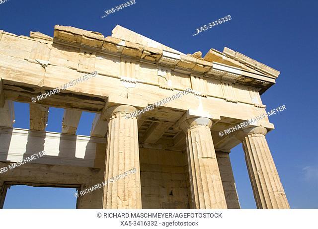 Propylaea (or Propylaia), Acropolis, Athens, Greece