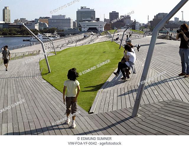 YOKOHAMA INTERNATIONAL FERRY TERMINAL, JAPAN, Architect YOKOHAMA