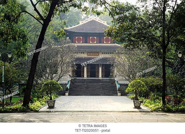 Botanical Gardens and Zoo Ho Chi Minh City Saigon Vietnam