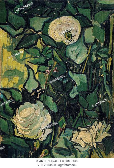 Vincent van Gogh - Roses - Van Gogh Museum, Amsterdam