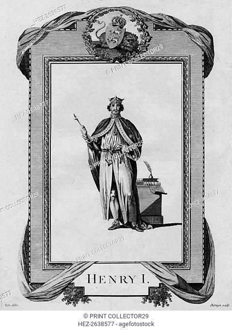 'Henry I', 1783. Artist: John Keyse Sherwin
