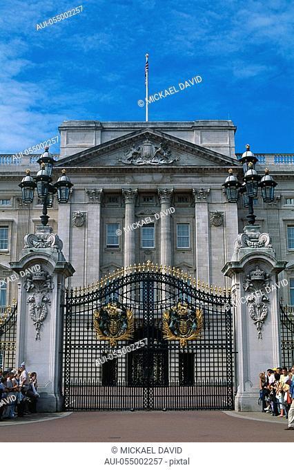 England - London - St James's district - Buckingham Palace -