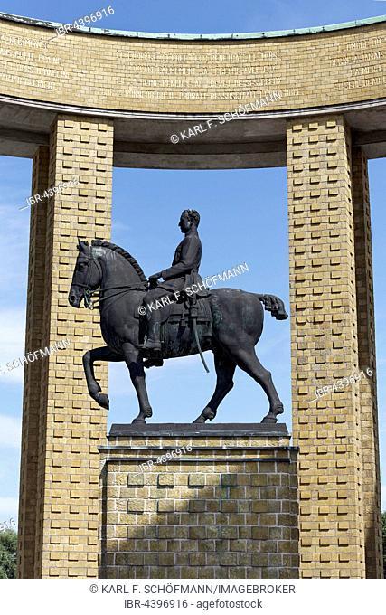 King Albert I Monument, Nieuwpoort, West Flanders, Flanders, Belgium