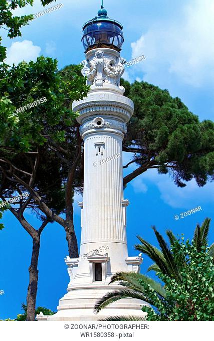 Faro de Gianicolo- Manfredi Lighthouse in Rome, It