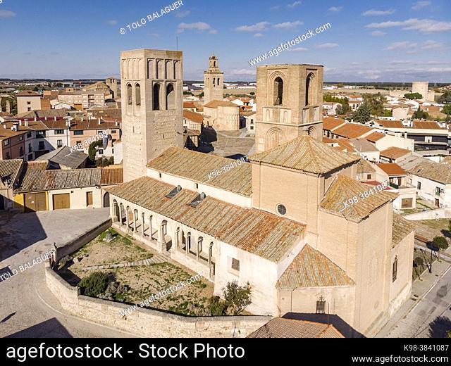 Iglesia de San Martín, Iglesia de las Torres Gemelas, 12th century, Arévalo, Ã. vila province, Spain