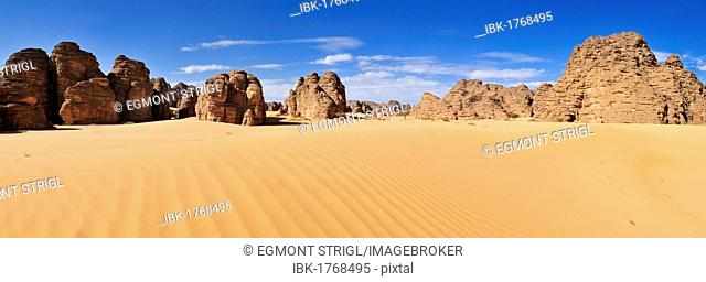 Tassili n'Ajjer National Park, Unesco World Heritage Site, Tikobaouine Region, Wilaya Illizi, Algeria, Sahara, North Africa