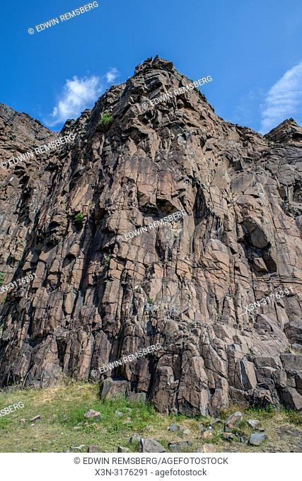 Salisbury Crags (Holyrood Park) in Scotland