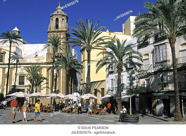 Old Cathedral, Plaza De La Catedral, Cadiz, Spain