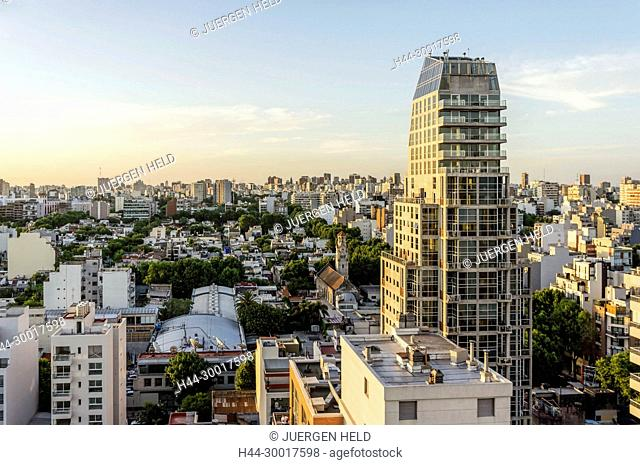 Argentina, Buenos Aires, Skyline, Palermo District