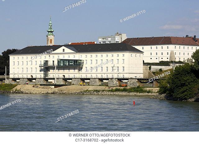Hainburg an der Donau, Austria, Lower Austria, Hainburg an der Donau, Danube-Auen National Park, Kulturfabrik, Cultural exhibition centre