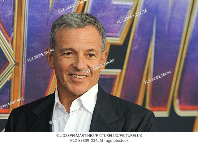 """Bob Iger at The World Premiere of Marvel Studios' """"""""Avengers: Endgame"""""""" held at the Los Angeles Convention Center, Los Angeles, CA, April 22, 2019"""