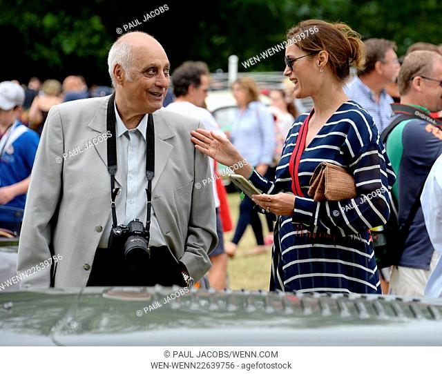 Goodwood Festival of Speed 2015 - Day 4 Featuring: Jodie Kidd, Sir Jonathan Ive Where: Chichester, United Kingdom When: 28 Jun 2015 Credit: Paul Jacobs/WENN