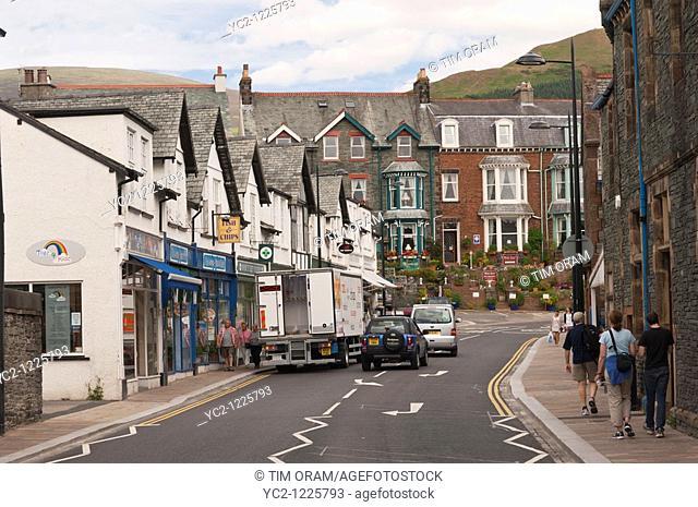 Keswick , Cumbria , England , Great Britain , Uk