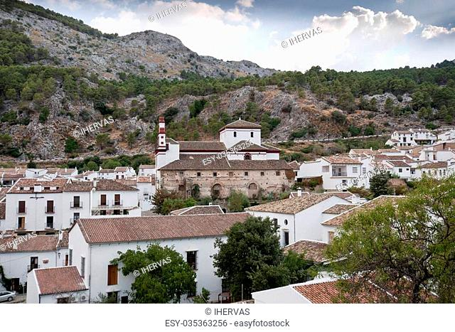 This village is part of the pueblos blancos (white towns) in southern Spain Andalusia region, and reminds the Arab past