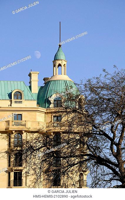 Azerbaijan, Baku, Four Seasons hotel in the Old City listed as World Heritage by UNESCO