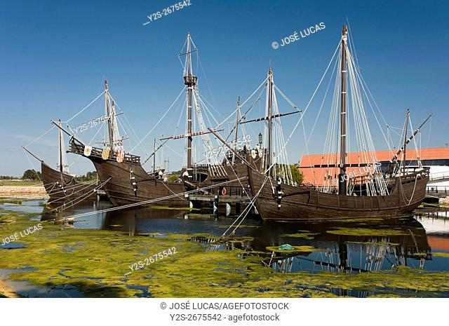 The Wharf of the Caravels, Palos de la Frontera, Huelva province, Region of Andalusia, Spain, Europe