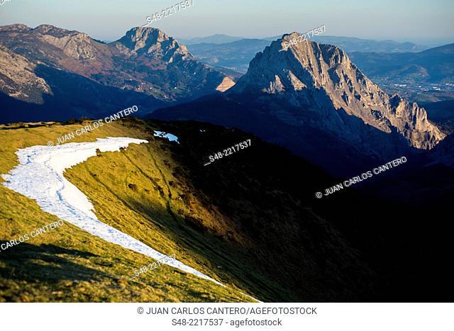 Urkiola Natural Park. Vizcaya. Basque Country. Spain. Europe