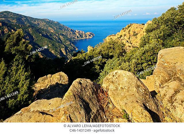 Les Calanches de Piana, Corsica, France