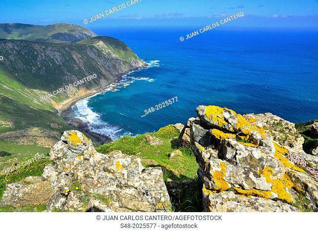 Sulleiro Point Lookout. San Andrés de Teixido. A Coruña. Galicia. Spain. Europe