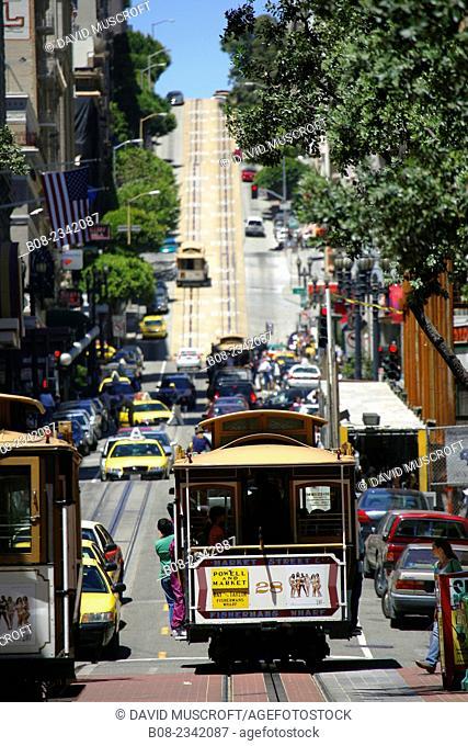 tram, San Francisco, CALIFORNIA, USA